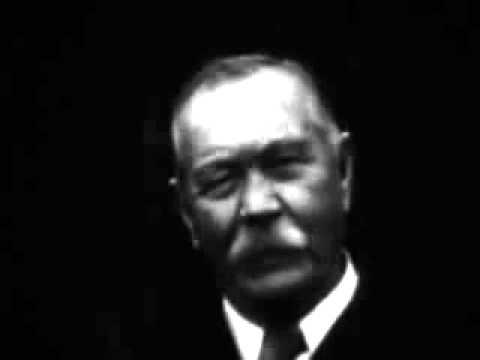 Sir Arthur Conan Doyle - Interview
