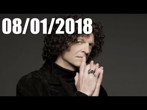 Howard Stern Show August 01 2018