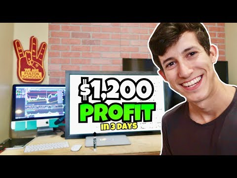How I Made $1,200 Profit Trading Stocks | Mid Week Recap