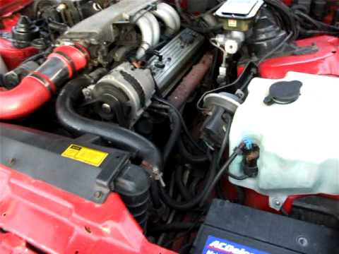 89 Trans Am Noisey V8 after removing smog pipes  YouTube