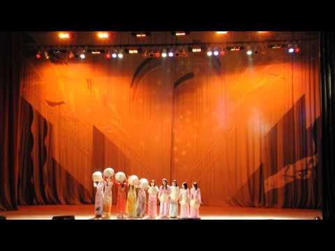 """[07.11.2012] Múa nón """" Việt Nam Quê Hương Tôi"""" (Hải quan vui nhộn)"""