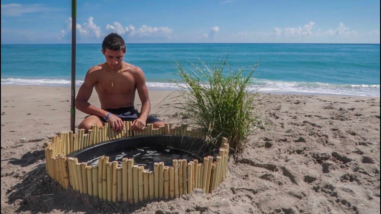 making-a-saltwater-pond-on-beach