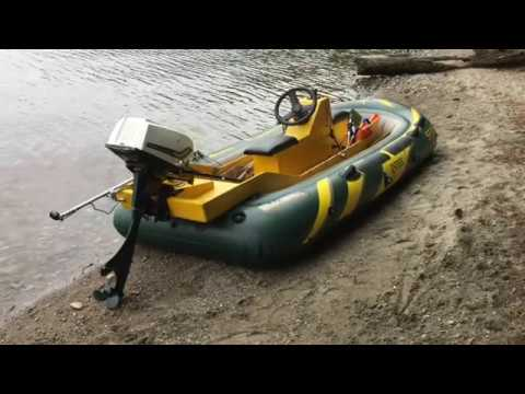 Intex Seahawk 4 Fishing Boat Sea Test
