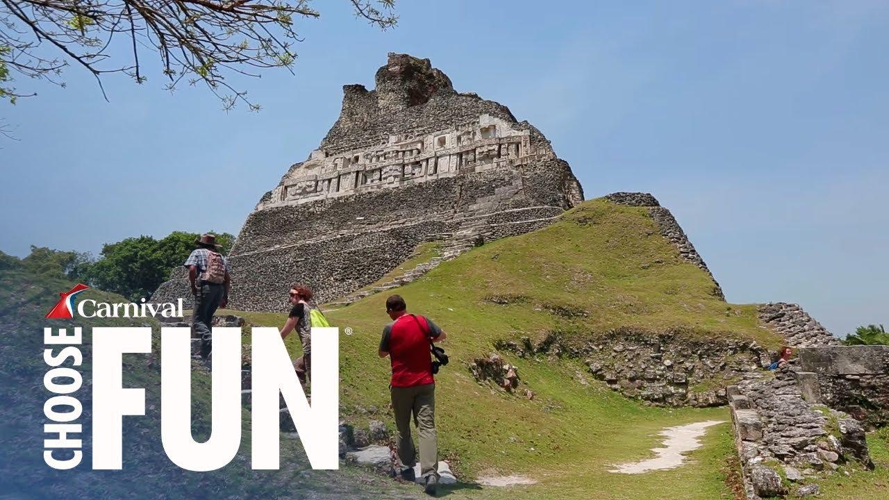 Xunantunich Mayan Ruins With Lunch In Belize Carnival