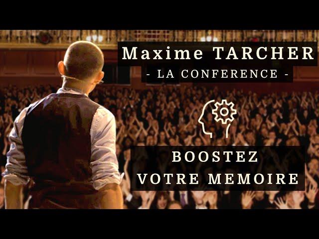 TEASER 2020 | Maxime TARCHER | Conférence Boostez votre Mémoire