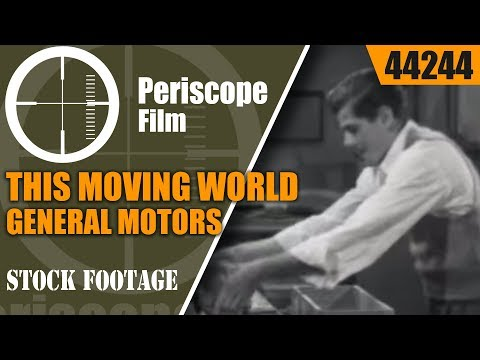 THIS MOVING WORLD  GENERAL MOTORS FISHER BODY DIVISION 1940 44244