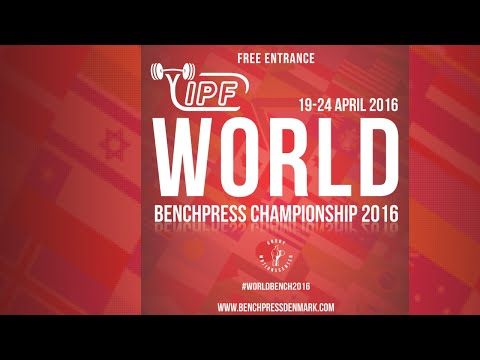 Sub-Junior Women, all classes - World Bench Press Championships 2016