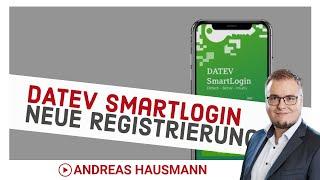 DATEV SmartLogin - neue Registrierung