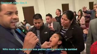 Tienes Fe pues mira el poder de Dios como cae en Ohio dia 2 -  Pastores Geovanny y Sondy Ramirez