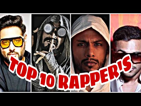 Top 10 INDIAN RAPPERS gully boy   UNDERGROUND RAPPER  best of Indian rappers india gully singer  