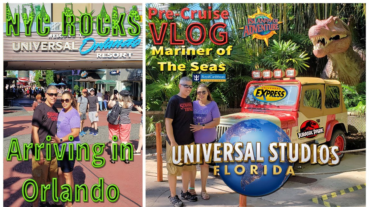 Universal Studios Orlando | Driving From Miami | Universal Express 🍎July 2019 | Pre-Cruise Vlog