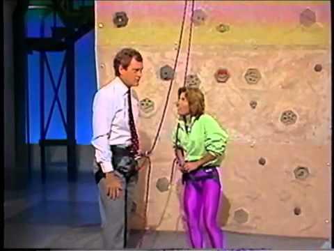 Lynn Hill on Letterman - 1989