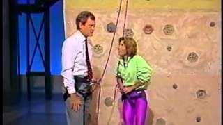 Lynn Hill on Letterman - 1989