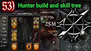 Anima ARPG Hunter build 1m Dps