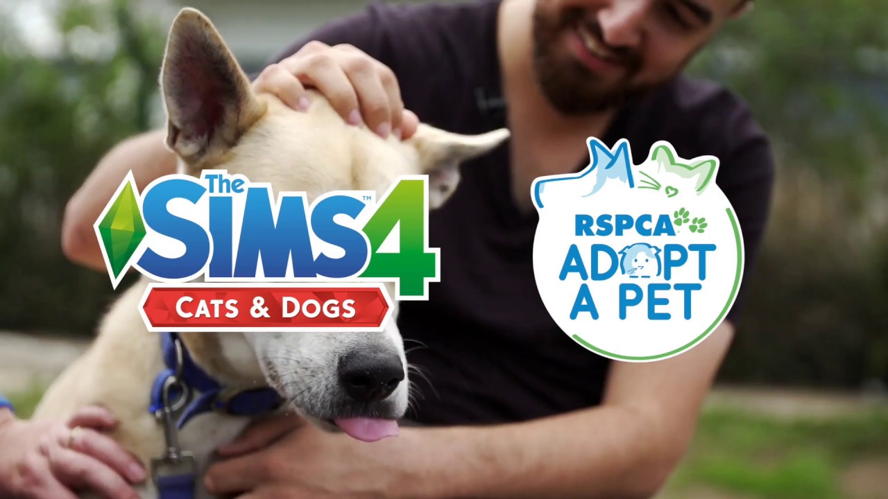 RSPCA and The Sims 4 Cats & Dogs #Sims4RSPCA