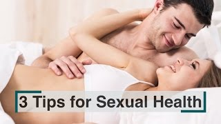 3 Steps to Sexual Health with Sexologist...