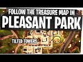 Follow the Treasure Map found in Pleasant Park - Fast & Easy - Fortnite Season 4 Week 7 Challenges