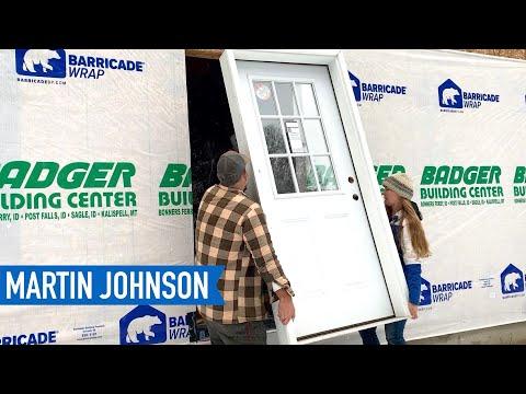 Installing Our Jeld-Wen Exterior Door   Off Grid Cabin Build #51