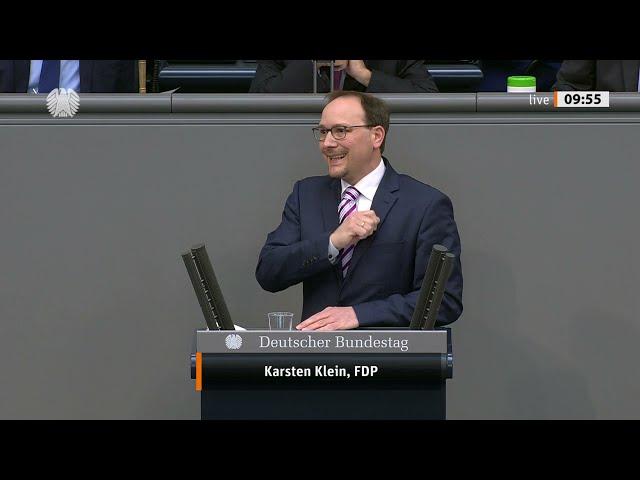 Karsten Klein, FDP: Bundestagsrede zum Nachtragshaushalt (15.04.2021)