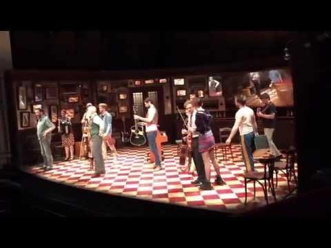 Farewell from cast of Once the Musical, Dublin #OnceinDublin