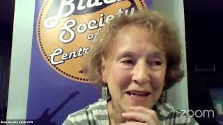 BSCP Virtual Jam    Rose Hudson Blues Talk and Performance    10 15 2020