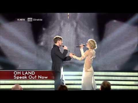 X Factor 2012 DK [HD] | Finalen | Sveinur & Oh Land - Speak out now