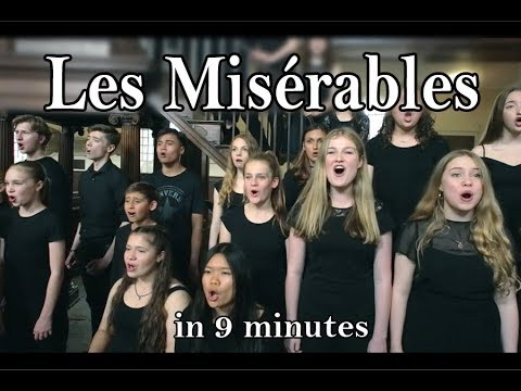 Les Misérables in 9 Minutes! (Amazing Young Singers, LIVE from Spirit YPC)