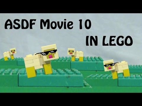 ASDF Movie 10 - In LEGO
