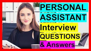 PA (Personal Assistant) Interview Questions and Answers
