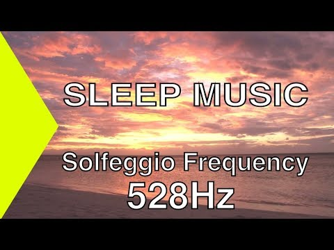 SEASIDE SLEEP MUSIC - Solfeggio Frequency 528Hz - Sounds of the Ocean