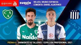 En Vivo: Sarmiento (Junin) vs TALLERES