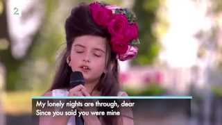 Angelina Jordan 8years - What a Difference a Day Make