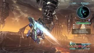 Xenoblade Chronicles X - Cauldros/Galactic Knight gameplay - Argentina