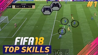 Video THE TOP SKILLS THAT YOU NEED TO KNOW in FIFA 18 - TUTORIAL - PART (1) download MP3, 3GP, MP4, WEBM, AVI, FLV Juni 2018