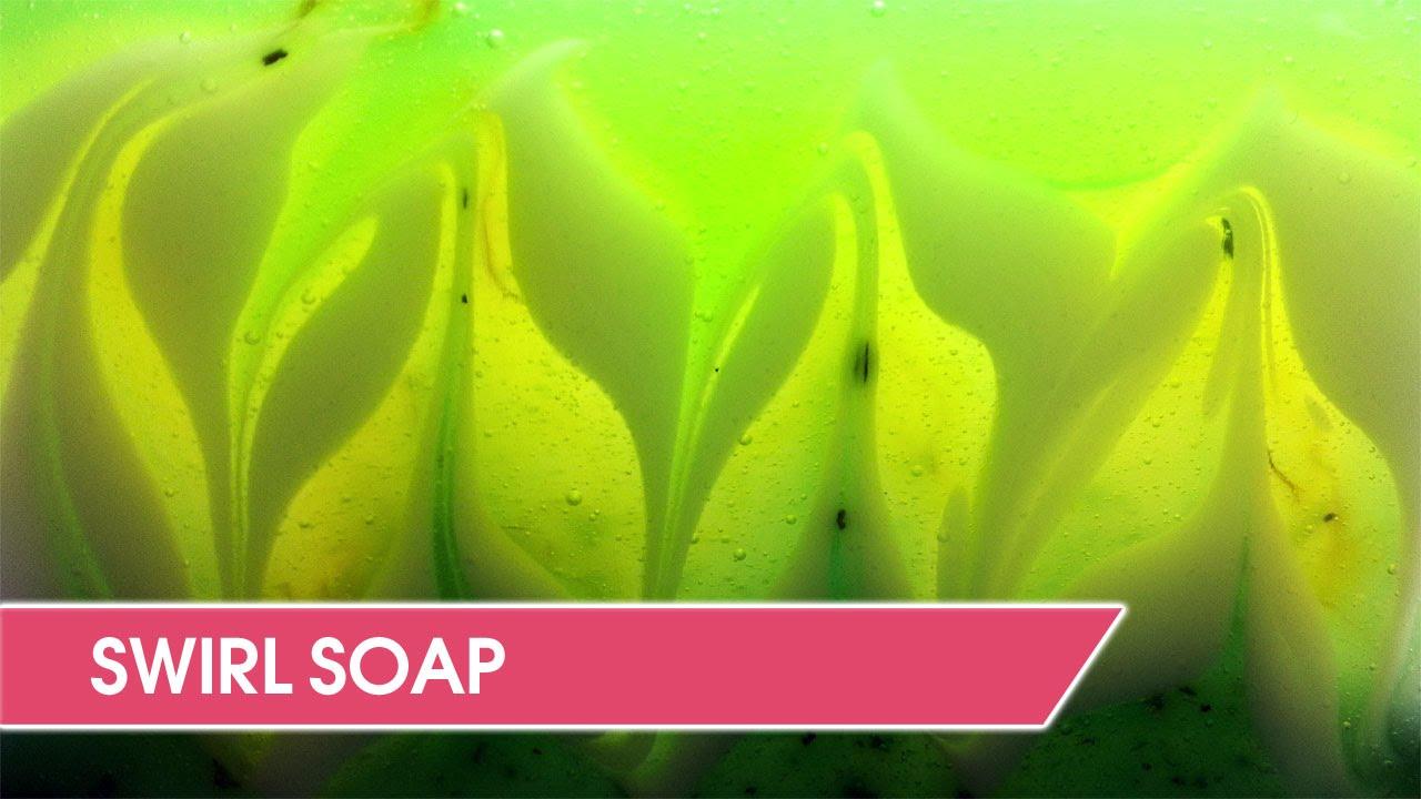 Swirl Soap Tutorial - Soap Swirling Techniques