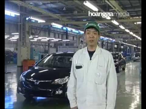 Honda Factory In Viet Nam. ( Nhà Máy ô Tô Honda Việt Nam)
