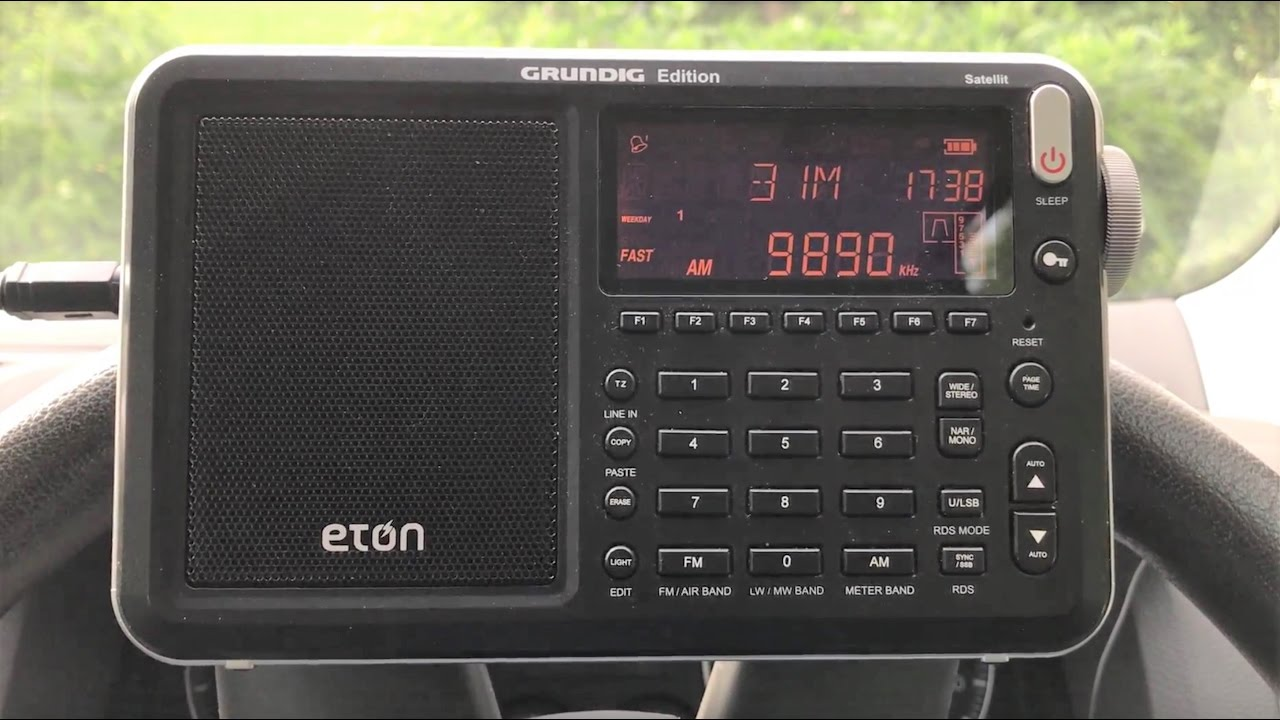 This is the news....from North Korea 9890 kHz, Eton Satellit and 30 ...