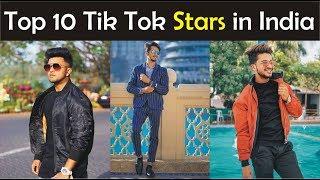 Top 10 Tik Tok Stars in India 2019 Mr Faisu jannat Zubair Adnan Saikh Awez darbar Hasnain