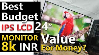 AOC 24B1XHS 24inch LED Monitor - Best Budget FullHd IPS Monitor - Unboxing, Viewing Angles & Review!