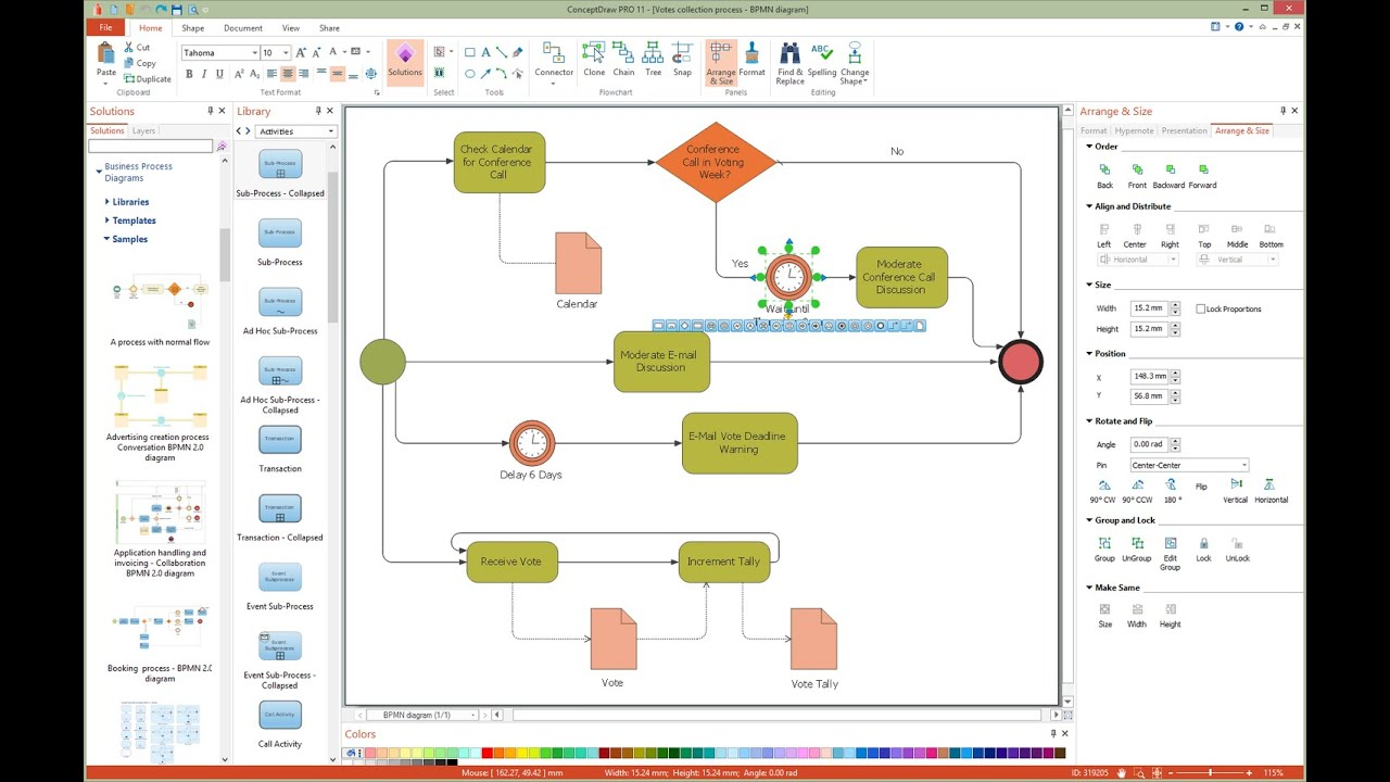 How To Draw A Business Process Diagram