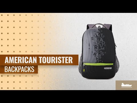 Save Big On American Tourister Backpacks [2018] | Great Indian Festival