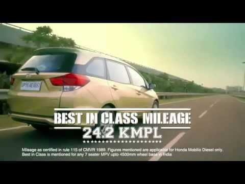 Honda Mobilio 7 Seater Car - TVC Advertisement - YouTube