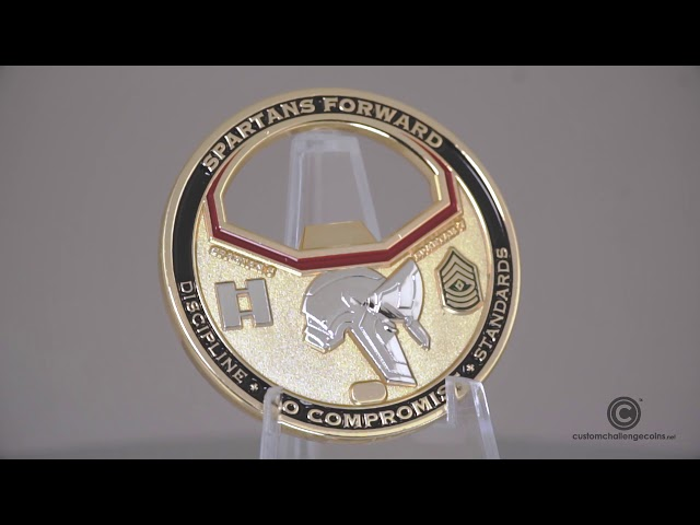 Custom Challenge Coins - Charlie Army Bottle Opener Coin