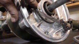 Ч 4.Мотоцикл из запчастей. редуктор (мост) колеса бокового прицепа (коляски).  Днепр-12 (16 ,МВ-750)(, 2016-04-09T07:00:43.000Z)