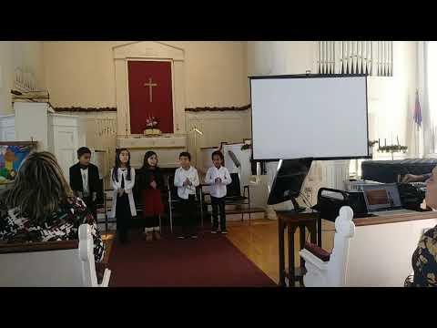 Alabanza a Dios. Coro de Niños del Greater Boston Academy