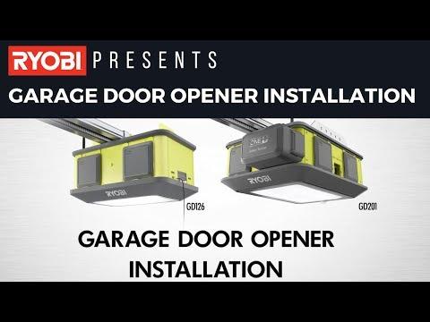 ULTRA-QUIET GARAGE DOOR OPENER | RYOBI Tools
