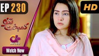 Drama   Kambakht Tanno - Episode 230   Aplus ᴴᴰ Dramas   Tanvir Jamal, Sadaf Ashaan