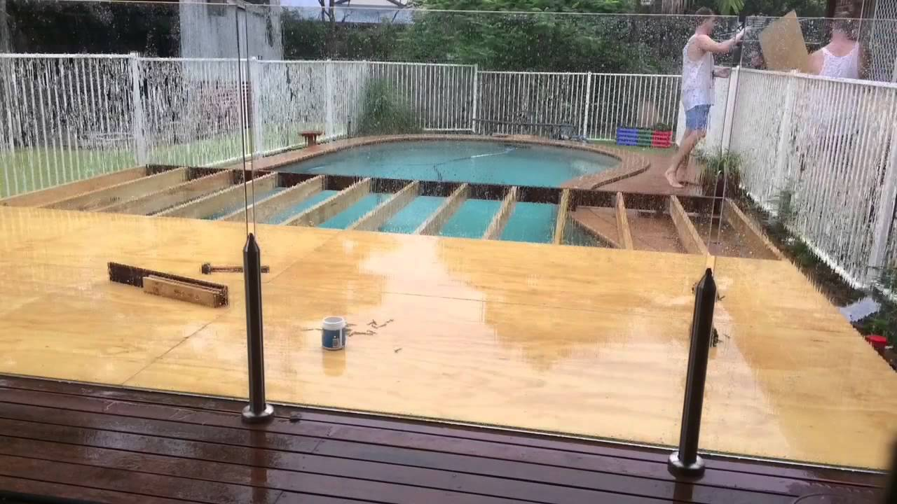 Deck building 101 youtube for Pool design 101