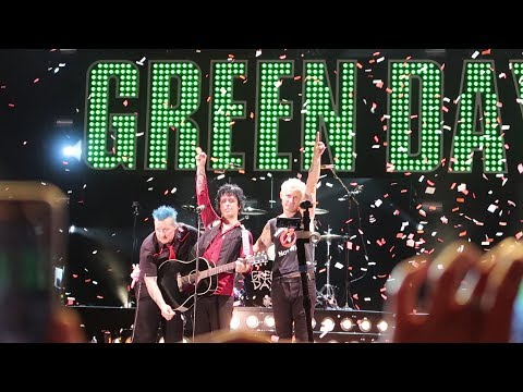Green Day: Live @ the Oakland Coliseum 8/5/17