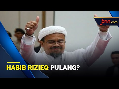 Kabar Baik untuk Laskar FPI, Ini Bocoran Tanggal Kepulangan Habib Rizieq Shihab